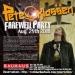 【Pete Klassen Farewell Party – LIVE!】Sat. 25th August 2018